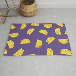 I sure could go for 100 tacos right about now... Rug