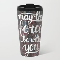 The Force - Red and Black Travel Mug