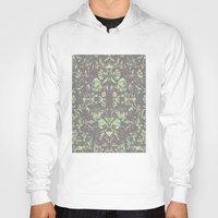 medieval Hoodies featuring Medieval Symmetry by Shute Illustration