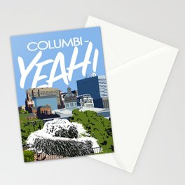 Columbi-YEAH Stationery Cards