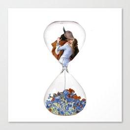Hourglass of Love (Hayez) Canvas Print
