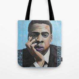 Jay Z Blue Tote Bag
