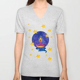 Happy Diwali Unisex V-Neck