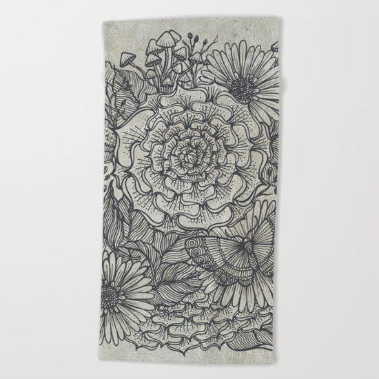 Plantae Beach Towel