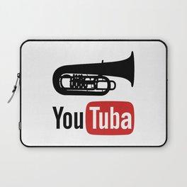 YouTuba. Tuba player gifts Laptop Sleeve
