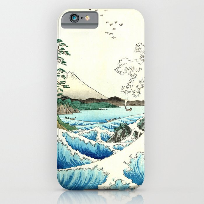 The Great Wave. The Sea At Satta iPhone Case
