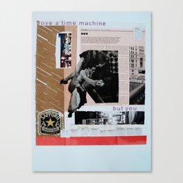 love a time machine Canvas Print
