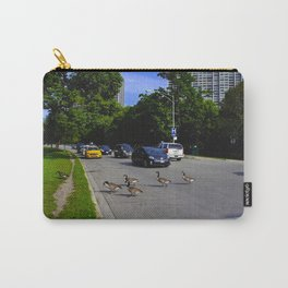 We Brake For Geese (Birds of Chicago Collection) Carry-All Pouch