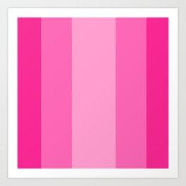 Beauty Powder Puff Pinks - Lines 4 thru 7 Art Print