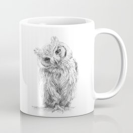 The Northern White-faced Owl  Coffee Mug
