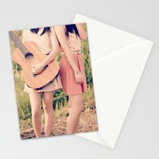 Strum My Heartstring  Stationery Cards