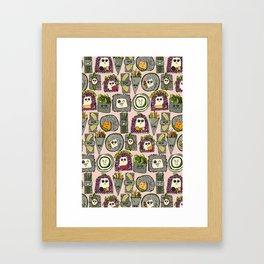 veggie sushi melba Framed Art Print