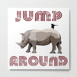 Jump Around Metal Print