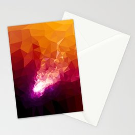Galaxy Low Poly 44 Stationery Cards
