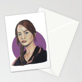 Katniss // Lavender Stationery Cards