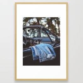 Blue Jean Baby Framed Art Print
