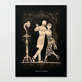 Romance D Automne Canvas Print