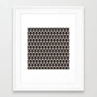 221b Framed Art Prints featuring 221B by Jessica Cushen