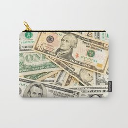dollar bills Carry-All Pouch