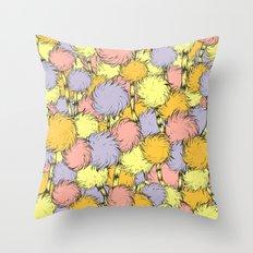 Truffula Throw Pillow