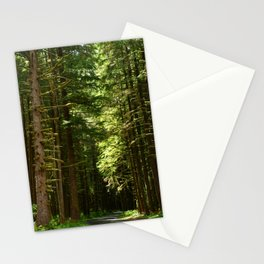 On A Road To The Rainforest Stationery Cards