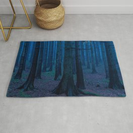 Into the Mystical Woods Rug