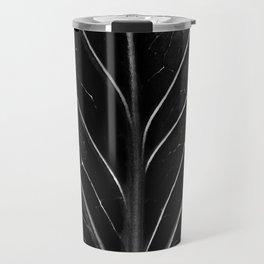 The black leaf Travel Mug