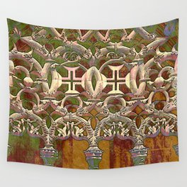 Batalha gothic tracery Wall Tapestry