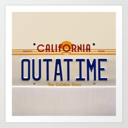 California Out A Time Art Print