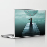 nordic Laptop & iPad Skins featuring Nordic magician by Tony Vazquez