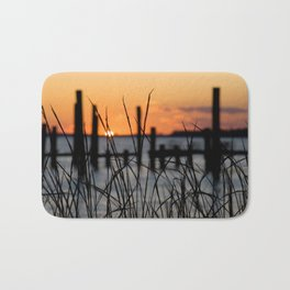 Mississippi Gulf Coast Sunset Bath Mat