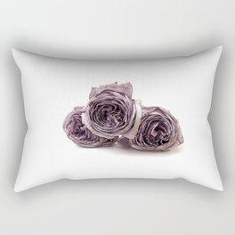 Purple wilted roses Rectangular Pillow