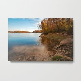 Autumn Susquehanna River Metal Print