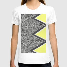 Abstract Mountain Range T-shirt