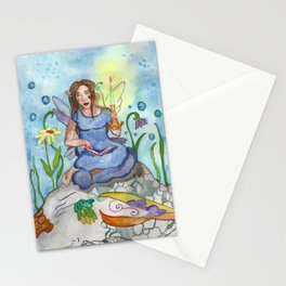 Last Candle (Fairy and the Dragon) Stationery Cards