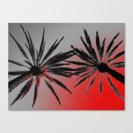 Palm Trees Wicked Canvas Print