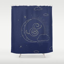 Night & Day Shower Curtain