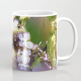 Floral fractals mixed reality Coffee Mug