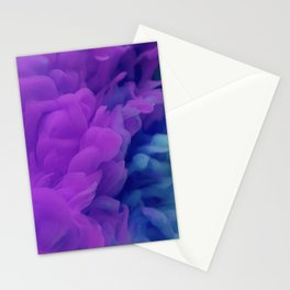 Purple Smoke Stationery Cards