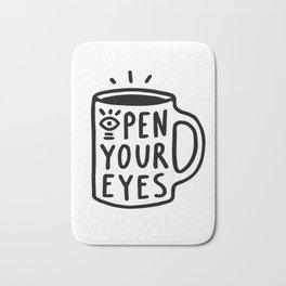 Open Your Eyes Bath Mat