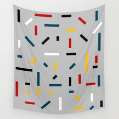 BEFORE MONDRIAN Wall Tapestry