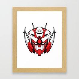 gundam v1 Framed Art Print