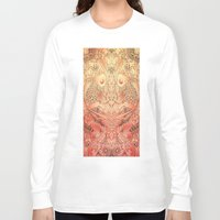 koi Long Sleeve T-shirts featuring koi by Monty