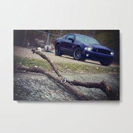 Shelby GT-500 key Metal Print