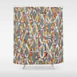 knot drop Shower Curtain