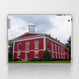 Iron County Courthouse in Ironton, Missouri Laptop & iPad Skin