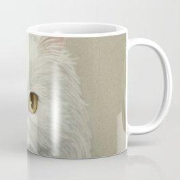 My White Cat's Face Coffee Mug