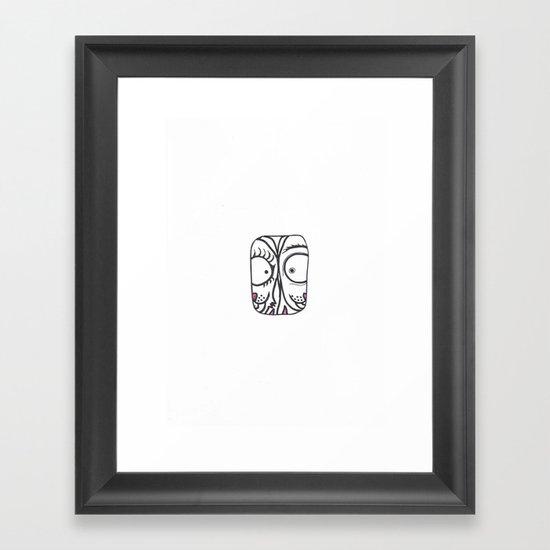 Eyetoeye Framed Art Print