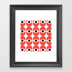 ABSTRACT PATTERN 2 Framed Art Print