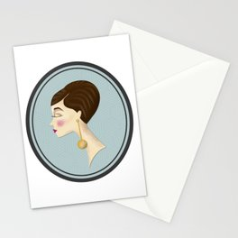 60s head Stationery Cards